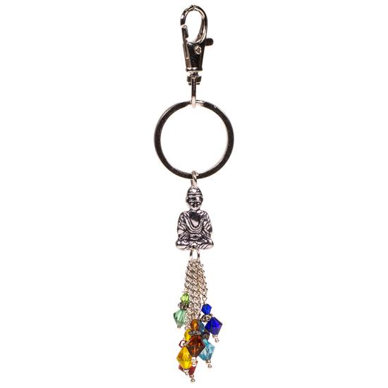 Schlüsselanhänger Chakra Buddha