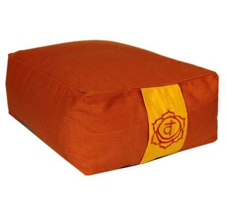 Meditationskissen: Chakra 2 Svadishtana orange