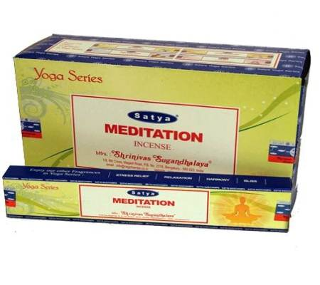 Räucherstäbchen Satya Nag Champa Meditation