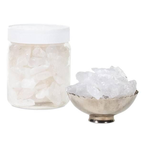 Bergkristallchips S in Dose 650 g