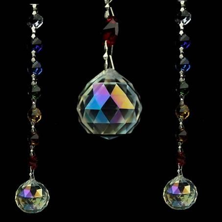 """Aurora Sphere"" Feng Shui Kristall Fensterdekoration"