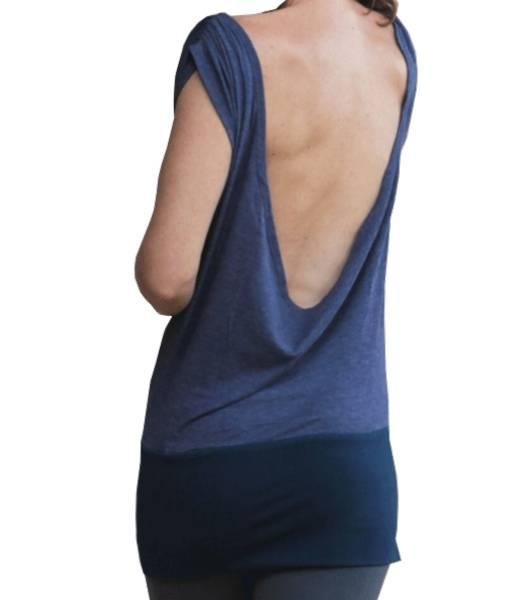 """Yoga Top """"Lakshmi"""" - mit offenem Rücken verschiedene Farben und Größen"""