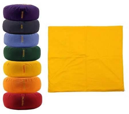 Meditationsmatte Hülle - gelb ohne Schaum - 3e Chakra Manipura
