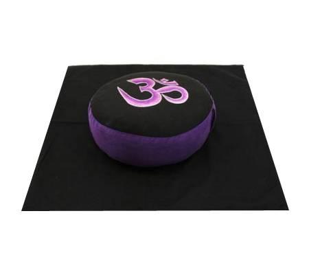 Meditations SET OM Symbol - violett/schwarz