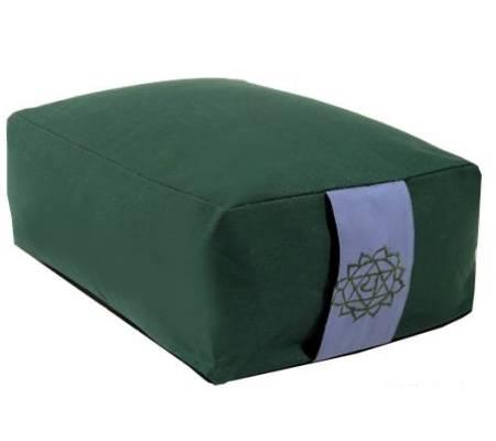 Meditationskissen: Chakra 4 Anahata grün