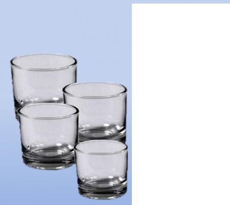 Glas für Chakra- und Chill-out Duftkerzen