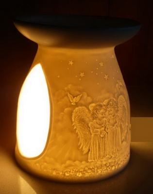 "Duftlampe Porzellan ""Angels"""