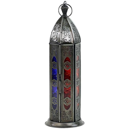 Orientalischer Kerzenhalter 7 Chakren