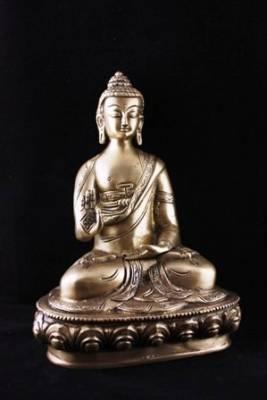 Buddha Mudra der Lehre einfarbig