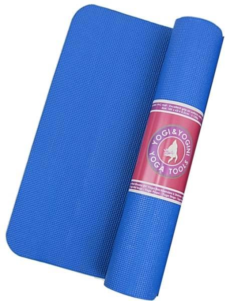 Yogi & Yogini Yogamatte blau