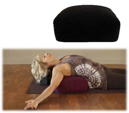 Meditationskissen / Yoga-Polster: schwarz