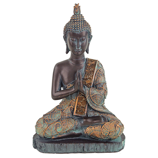 Buddha im Gebet, Antiklook, Thailand