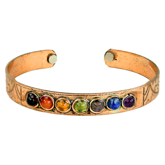 Magnetisches Chakra Armband
