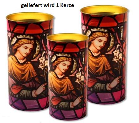 Erzengel Gabriel - Devotionskerze mit wunderbaren Lichteffekten