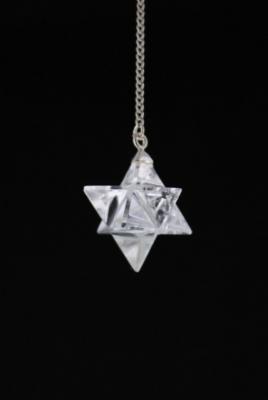 Merkaba Crystal Chakrapendel - achtspitzig