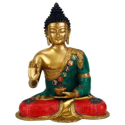 Buddha Mudra der Lehre