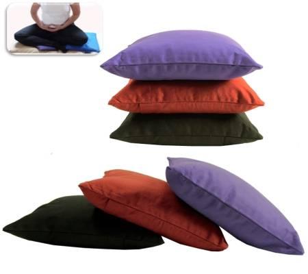 Komfortables, elegantes Meditations Kniekissen - violett