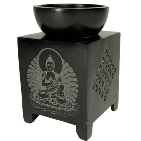 Öl Verdampfer Speckstein Buddha
