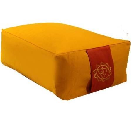 Meditationskissen: Chakra 3 Manipura gelb