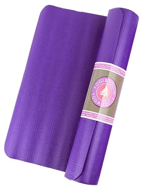 Yogi & Yogini Power Yogamatte violett